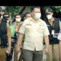 Pemantauan PPKM Mikro Di Jawa Barat Bersama Dirpol PP dan Linmas